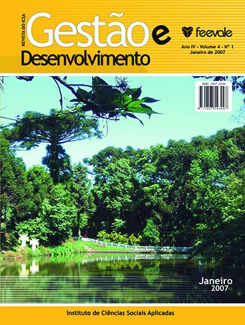 Visualizar v. 4 n. 1 (2007): Janeiro / Junho